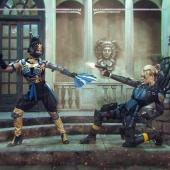 Mortal Kombat X - Kitana vs Cassie Cage / 2015
